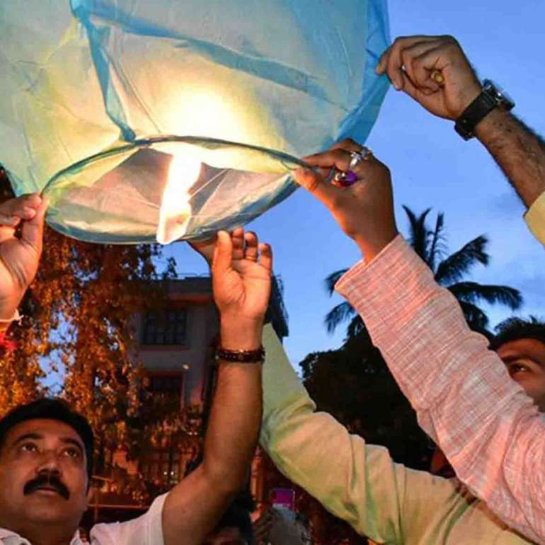 Celebration of Deepavali ( Eco-Friendly )